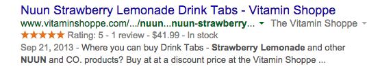 Nuun Strawberry Lemonade