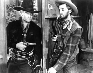 William Boyd (Hopalong Cassidy) and Robert Mit...